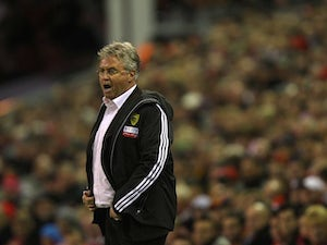 Hiddink plays down Europa hopes
