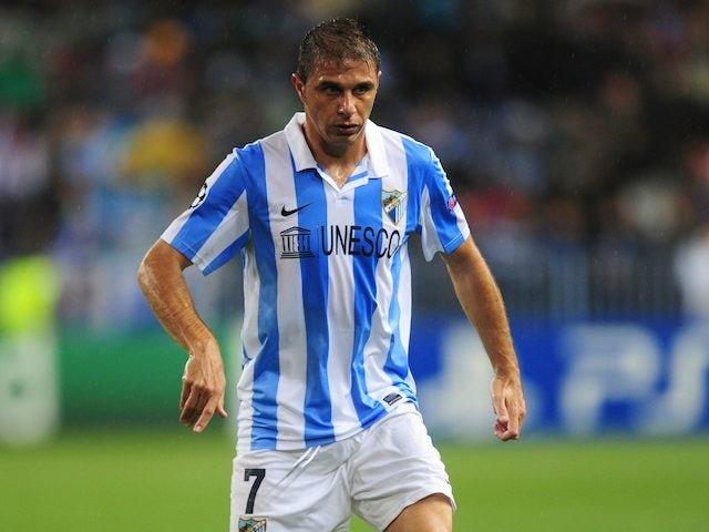 Joaquin scores a late winner for Malaga against AC Milan