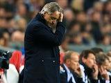 A depressed Roberto Mancini