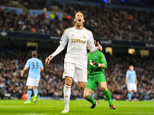 Michu relishing Anfield trip