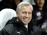 A beaming Alan Pardew