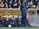Chris Powell instructing his team
