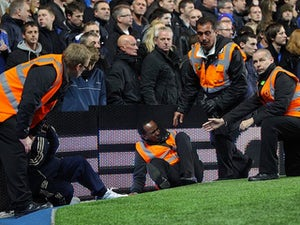 Steward injured at Stamford Bridge