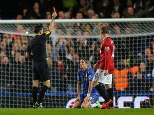 Torres, Ivanovic sent off for Chelsea