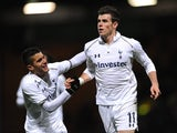 Gareth Bale scores for Spurs