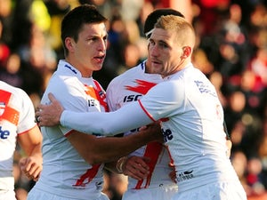 Result: Hull score 12 tries to thrash Widnes