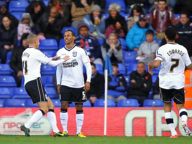 DJ Campbell scores for Ipswich