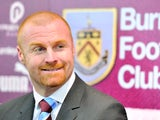 Sean Dyche is unveiled as the new manager of Burnley