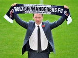 Dougie Freedman is unveiled as the new manager of Bolton Wanderers