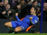 Eden Hazard scores the equaliser for Chelsea