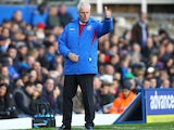 Ipswich manager Mick McCarthy gives his side the thumbs-up