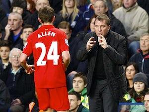 Team News: Allen starts for Liverpool