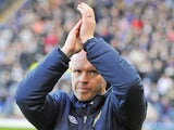 Henning Berg meets the home crowd at Ewood Park