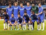 Chelsea team facing Shakhtar Donetsk