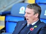 Birmingham boss Lee Clark yawns