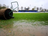 The match between Braintree and Tranmere is called off due to a waterlogged pitch at Cressing Road