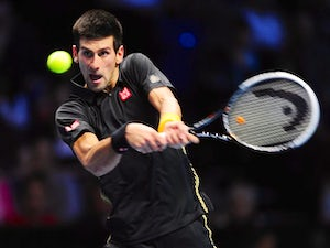 Result: Djokovic reaches final of ATP Finals