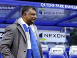 QPR chairman Tony Fernandes before kickoff at Loftus Road