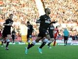 Danny Haynes opens the scoring for Charlton