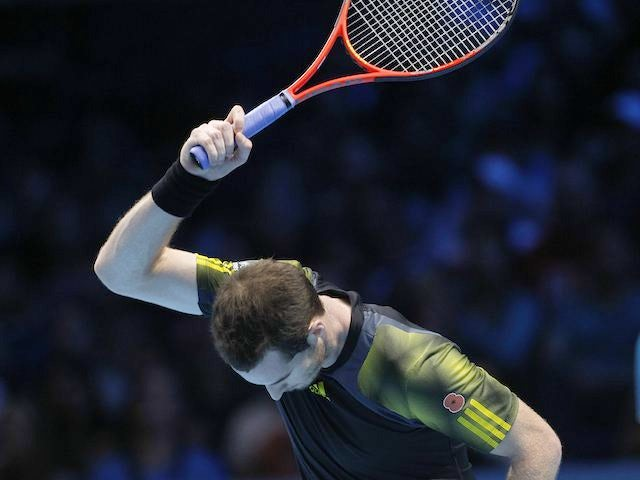 Angry Murray in the ATP Finals