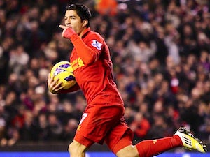 Rodgers: 'Suarez is happy at Liverpool'
