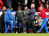 Mick McCarthy celebrates Ipswich's second goal