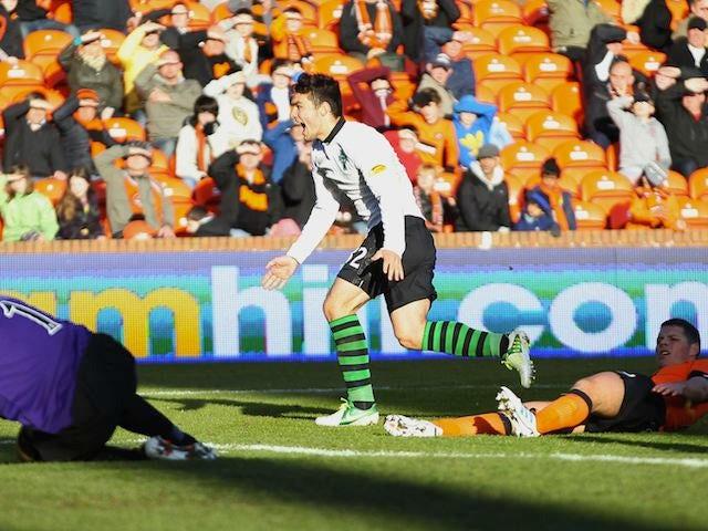 Tony Watt scores for Celtic
