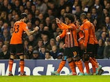 Willian scores the equaliser for Shakhtar
