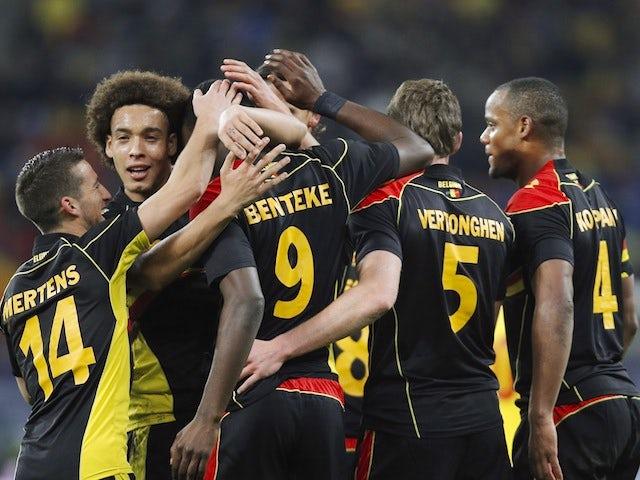 Result: Hazard helps Belgium past Macedonia