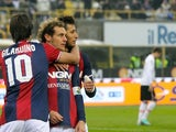 Alessandro Diamanti scores for Bologna on November 18, 2012