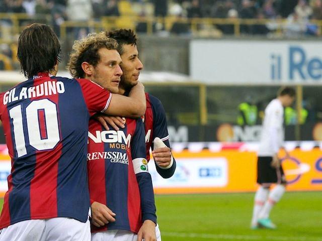 Alessandro Diamanti scores for Bologna on November 18, 2012