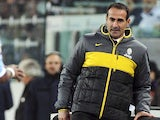 Juventus coach Angelo Alessio on November 17, 2012
