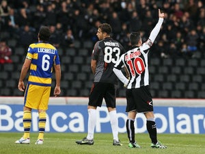 Udinese held at home