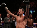 Carl Froch after his win over Yusaf Mack on November 17, 2012