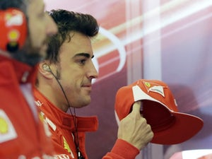 Alonso happy with third place
