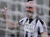 Francesco Valiani scores for Siena on November 18, 2012