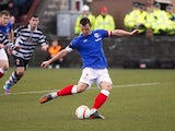 Lee McCulloch scores for Rangers on November 17, 2012
