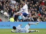 Lisandro Lopez scores for Lyon on November 18, 2012