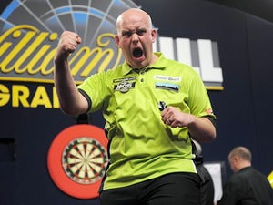 Van Gerwen sets up all-Dutch final