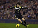 Oscar in action for Chelsea on November 17, 2012