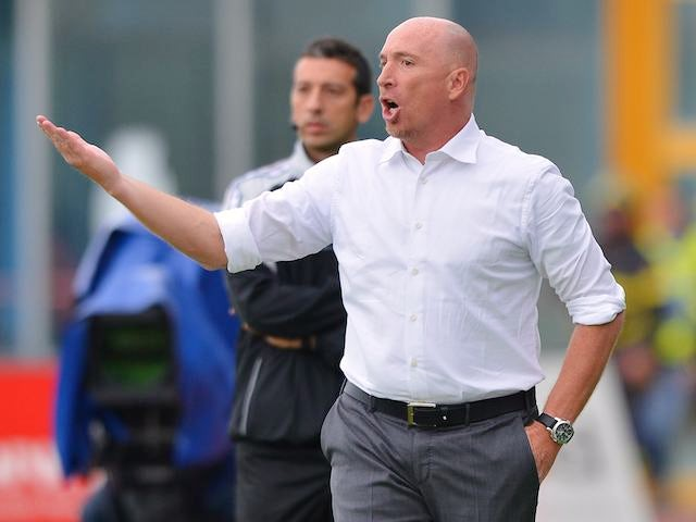 Catania coach Rolando Maran on November 18, 2012