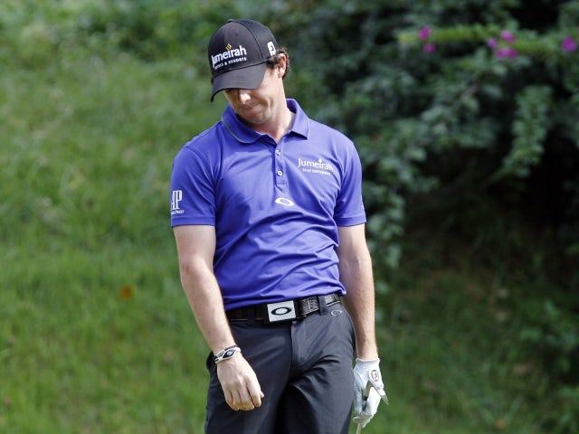 Rory McIlroy fails to make the cut at the Hong Kong Open on November 16, 2012