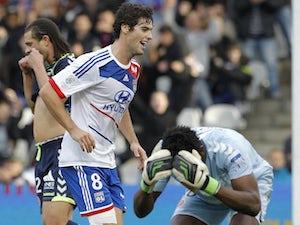 Result: Lyon held by Saint-Etienne