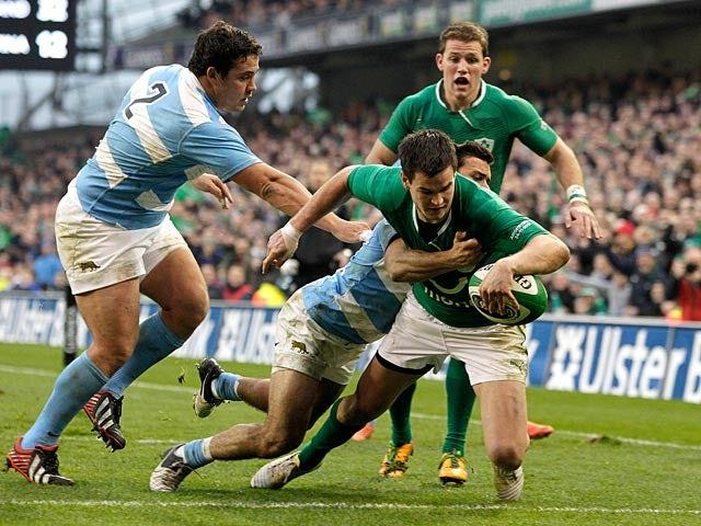 Result: Ireland thrash Argentina