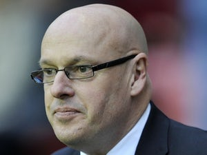 Reading boss Brian McDermott at Wigan on November 24, 2012