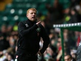 Neil Lennon during the match against Inverness Caledonian Thistle on November 24, 2012