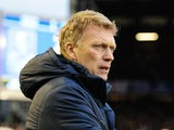 Everton boss David Moyes on November 24, 2012