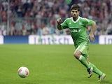 Wolfsburg's Diego on September 25, 2012