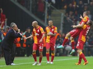 Galatasaray win Istanbul derby