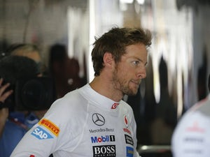 Button laments Melbourne display
